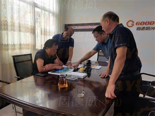 """方城县政协领导到固德威公司开展""""万人助万企""""调研活动"""